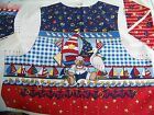 Daisy Kingdom SAILOR BEAR VEST Pre-Printed Fabric Panel Child Size 4-10 Nautical