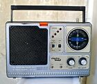 Vintage 1980s ELECTRO BRAND Portable 8-track player & Radio Boombox! WORKING!