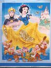 Disney Snow White and The Seven Dwarfs Large Quilt Fabric Panel