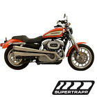 04 13 Harley Davidson XL Models SuperTrapp XR Style Full Exhaust System