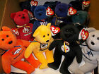 U PICK YOUR TEAM 1 NFL Football TY Beanie baby TEDDY BEAR logo & COLOR NWT 8
