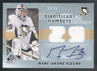 08 09 SPGU Significant Numbers Marc-Andre Fleury Dual Jersey Autograph #08 29