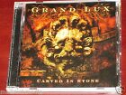 Grand Lux: Carved In Stone CD ECD 2007 Ulterium Records Sweden ULTCD003
