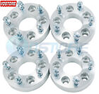 4 2 Black Wheel Spacers Adapters 6x55 fits Chevy Silverado 1500 Suburban GMC