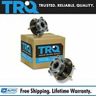 TRQ Rear Wheel Hub  Bearing Left  Right Pair Set for 04 11 Endeavor w ABS 4WD