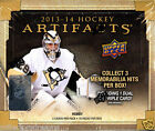 2013 14 Upper Deck Artifacts Hockey Hobby Box Brand New Factory Sealed