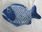 White Fish Plate - Hand Painted in Thailand - Deep Plate or Shallow Bowl