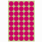 400 X 25mm Coloured Dot Stickers Round Sticky Adhesive Spot Circles Paper Labels