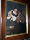 LG RARE BEAUTIFUL 19th CENTURY ANTIQUE KPM PORCELAIN PLAQUE