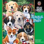 Jigsaw Puzzle 300 pcs Big Easy Grip Pieces Masterpieces - Friends Forever Dogs