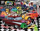 Doo-Wop a 1000-Piece Jigsaw Puzzle by Sunsout Inc. New