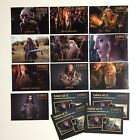 THE HOBBIT: UNEXPECTED JOURNEY Trading Card Set of 10 PROMO CARD by DENNY'S