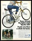1970 Sears Spyder 500 bike color photo vintage print ad