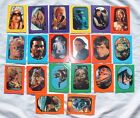 19 Diff LOT of Orig 33 Sticker Card Set 1 1983 Series Return of the Jedi Topps