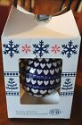 Polish Pottery Boleslawiec Christmas HEARTS 4