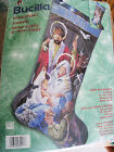 Christmas Bucilla Needlepoint Stocking KitAWAY IN A MANGERNativity8441718