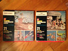 VINTAGE GAF TALKING VIEW MASTER REELS BUGS BUNNY 1959 FLINTSTONES 1962 IN BOX