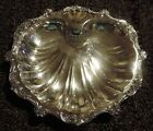 Poole Old English #5013 Silverplate Shell Serving Platter / Dish / Bowl