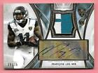 2014 Topps Supreme #ML Marqise Lee 2 Color Rookie Patch Autograph #39 75