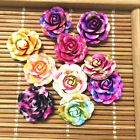 NEW 20pcs MIX Resin Rose Flower flatback Appliques For phone wedding crafts