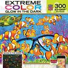 NEW Jigsaw Puzzle 300 Big Pieces Easy Grip Glow In The Dark CURIOUS CLOWNFISH