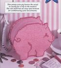 Penny Wise Pig Piggy Bank Plastic Canvas NEW Pattern Leaflet