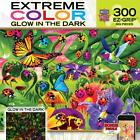NEW GLOW IN THE DARK Jigsaw Puzzle 300 Large Pieces Masterpieces LADYBUG LANE
