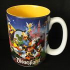 Disneyland Resort 3D Character Mug Coffee Tea Cup GRANDMOM Disney Theme Park EUC