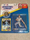1991 MLB STARTING LINEUP-KELLY GRUBER FIGURE WITH CARD & COLLECTOR COIN