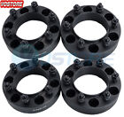 4 15 6 Lug Hubcentric Black Wheel Spacers Adapters 6x55 for Toyota Tacoma