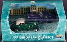 Hot Wheels Collectibles '37 European Classics 60th Anniversary New In Box 1997