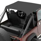 For Jeep CJ5 59 75 Bestop 52505 01 Bikini Traditional Style Black Crush Soft Top