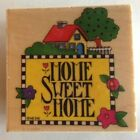 Home Sweet Home by Mary Engelbreit Rubber Stamp for All Night Media