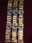 Hot Wheels Gift Packs LOT OF 9 MINT packages - 45 cars total from 1997 to 2000
