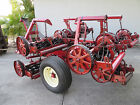Toro Reel Mower 7 Gang Hydraulic Transport Pull Frame Reelmaster 7 Blade Clean