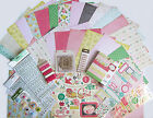 Crate Paper Little Bo Peep Vintage Baby Paper  Embellishment Set A Save 60