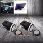 2x Universal Car Air Vent Magnetic Mount Holder Stand for HTC Huawei Cell Phone