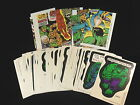 1974 TOPPS COMIC BOOK HEROES STICKERS AND PUZZLE SET NM MINT 40 CARDS 9 PUZZLE