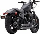 COBRA SPEEDSTER BLACK EXHAUST HARLEY SPORTSTER 883 1200 MODELS 2014 2017