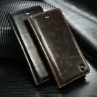 Luxury Leather Flip Cover Wallet Card Stand Magnetic Case For iPhone 8 7 6S Plus