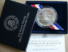 1992 White House Commemorative Silver Dollar BU Coin with US Mint Box  COA