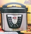 New Digital Power Pressure Cooker Plus Electric 8 Quart Stainless Steel