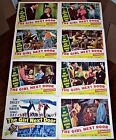 THE GIRL NEXT DOOR (1953) JUNE HAVER FOX MUSICAL ORIGINAL 8 CARD LOBBY SET