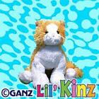 Webkinz Lil Kinz Orange and White Cat Kitten Kitty Brand New with Sealed Code