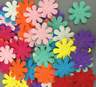 100Pcs Color Flowers Felt Appliques Fabric Flower decoration Non woven 27mm