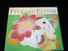 Fitz and Floyd bunny blooms canape plate NIB NEW 2002