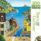New - CRUSHED BOX JIGSAW PUZZLE - A Walk on the Pier - 300 EZ GRIP PIECE