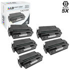 LD Remanufactured Lexmark 140109X 5PK Black Toner Cartridges for Optra N 240