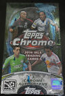 2014 TOPPS CHROME MLS SOCCER 24 PACK HOBBY SEALED BOX free ship! 3 autos!