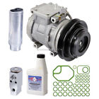 New OEM Genuine AC Compressor  Clutch + A C Repair Kit Fits Geo  Toyota